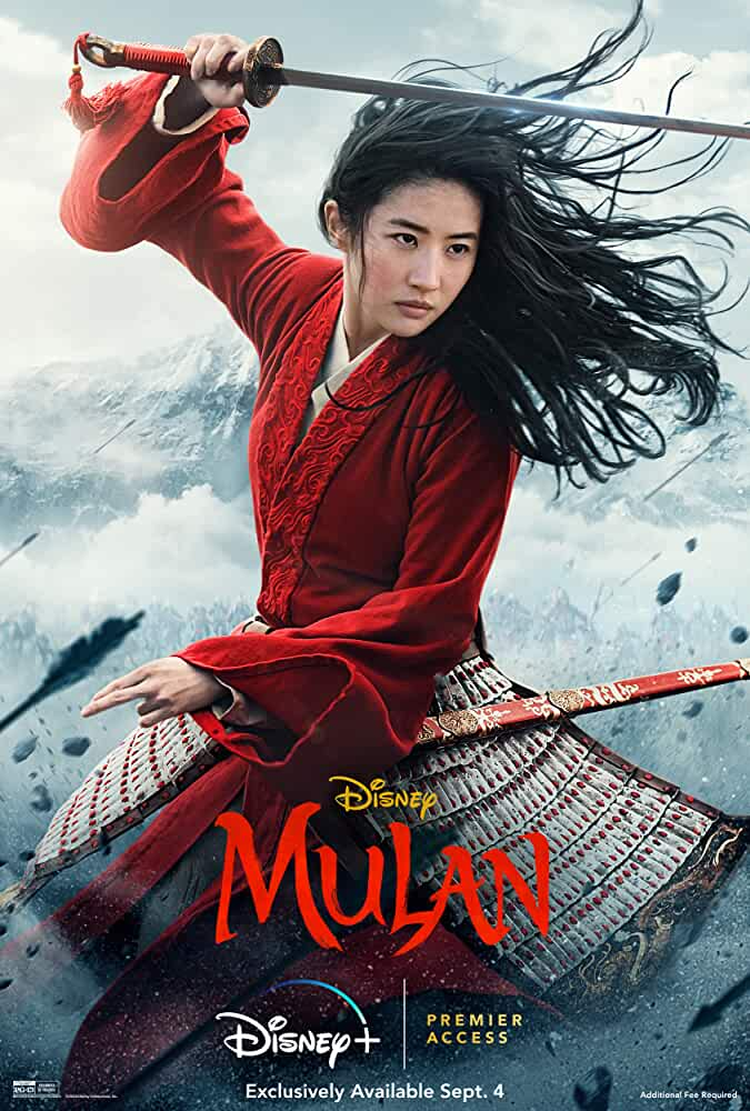 Mulan (2020) English Full Movie HD ESub