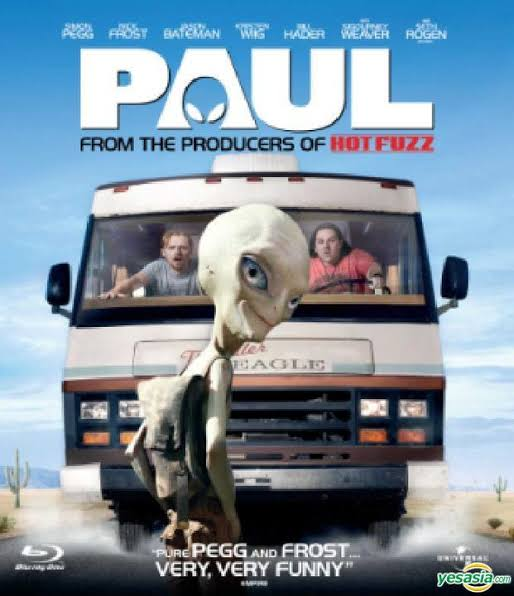 Paul (2011) Hollywood Hindi Full Movie HDRip