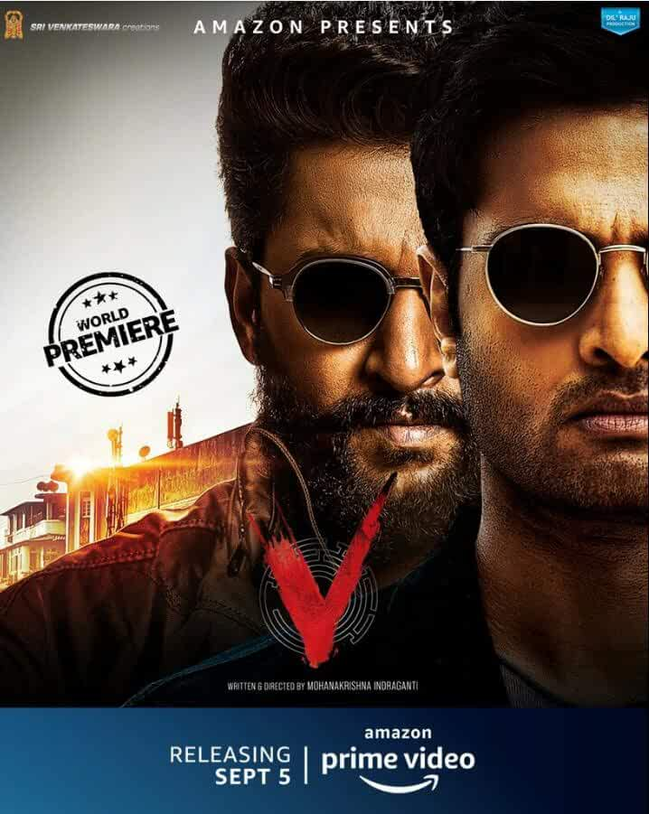V (2020) Telugu Full Movie HDRip ESub