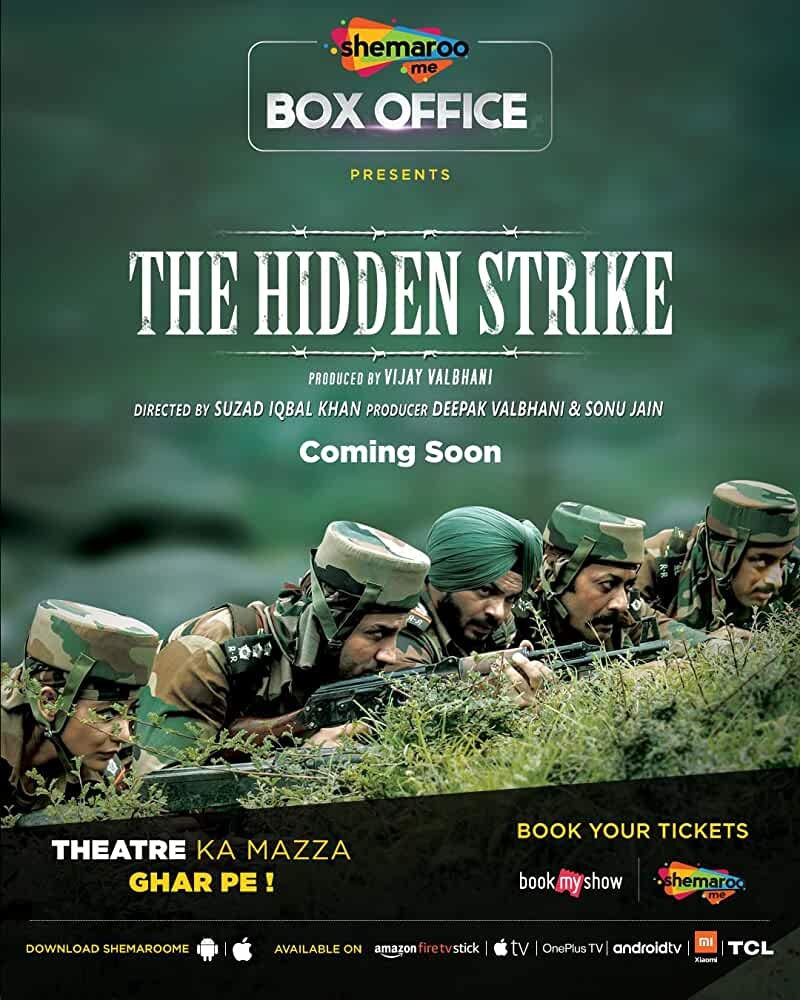 The Hidden Strike (2020) Hindi Movie HDRip