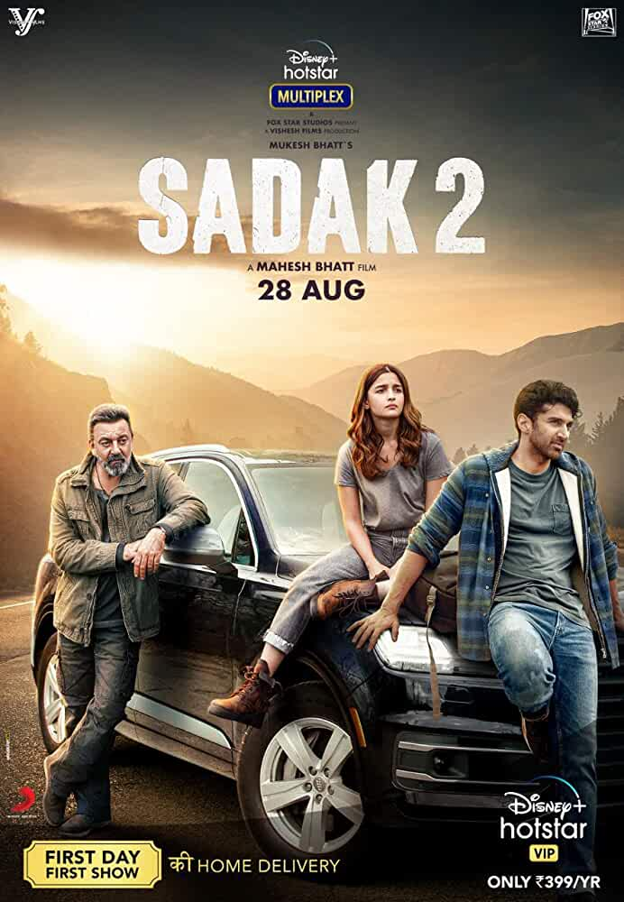 Sadak 2 (2020) Hindi Full Movie HDRip