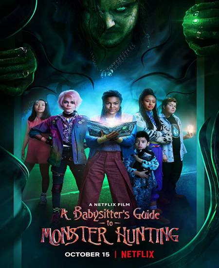 A Babysitters Guide to Monster Hunting 2020 Dual Audio Hindi