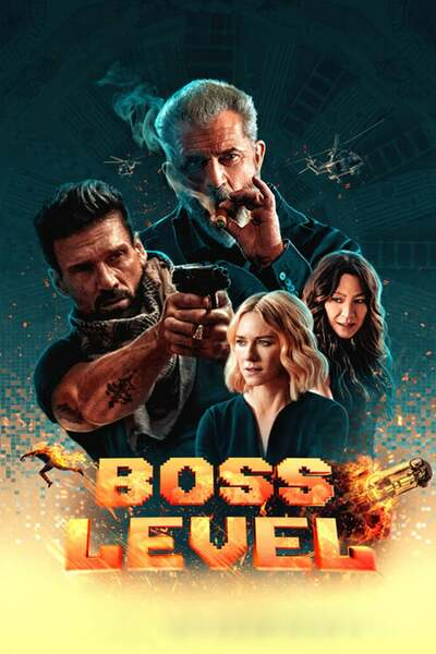 Boss Level (2020) English 480p