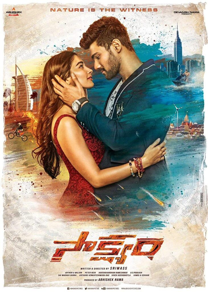 Pralay The Destroyer (Saakshyam) 2020 South Hindi Dubbed Movie HDRip Download