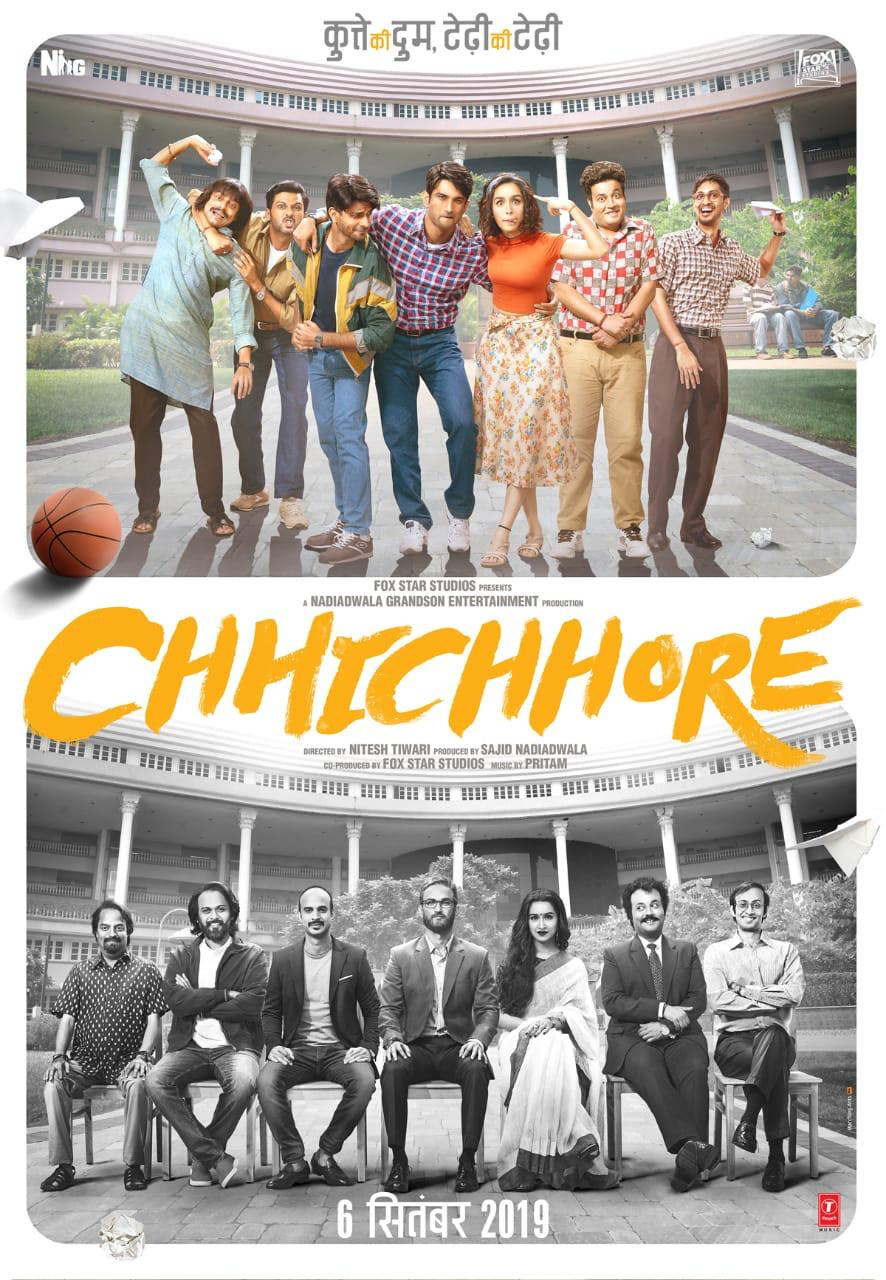 Chhichhore (2019) Hindi WEB-DL – 480P | 720P– x264 –  – Download