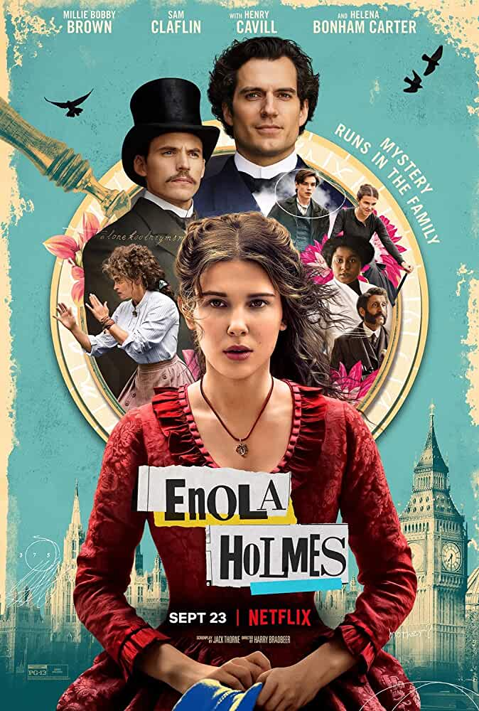 Enola Holmes (2020) NetFilx 720P HDRip Download