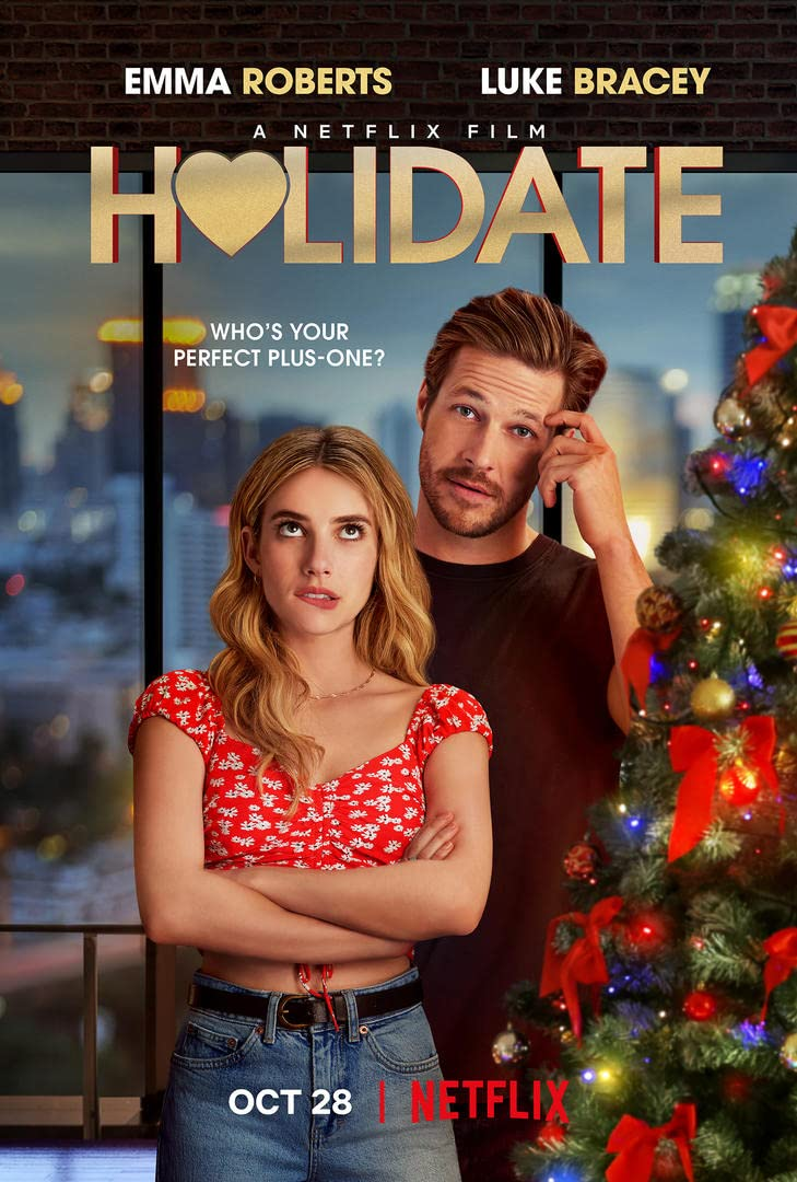 Holidate (2020) English 720P  HDRip Download [Hindi+English]