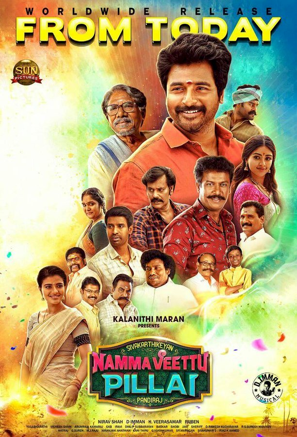 Manasunnodu [Namma Veettu Pillai] (2019) Tamil Telugu Full Movie  -  720p - HDRip Download