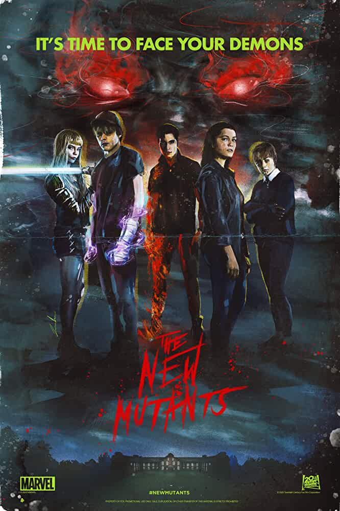 The New Mutants (2020) English Movie HDCAM