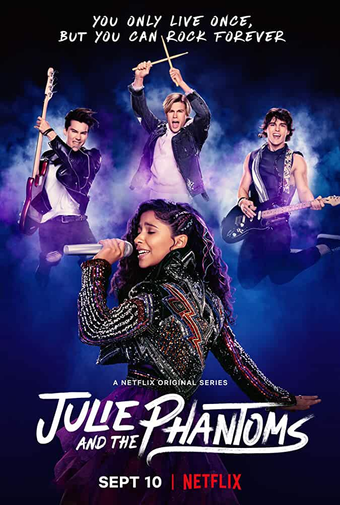 Julie and The Phantoms (2020) Netflix 720P HDRip Season 1 Complete Download [Hindi+English]