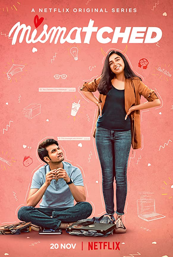 Mismatched (2020) HEVC HDRip Hindi S01 Complete NF Series Download HD