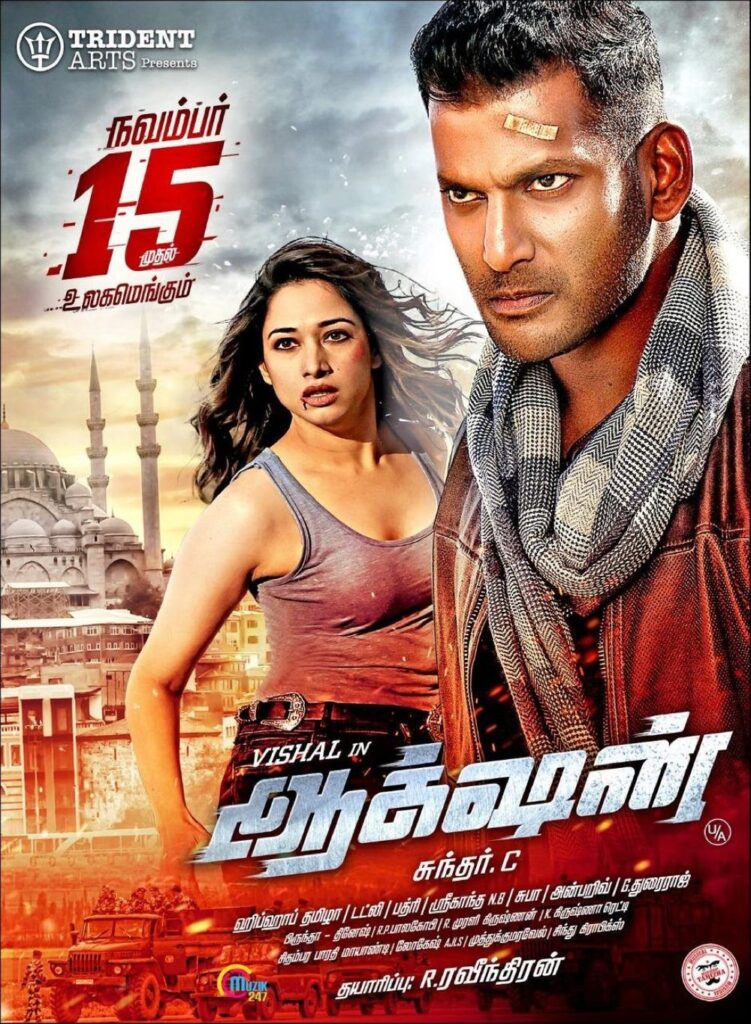 Action (2020) South Indian Hindi Dubbed Movie HDRip