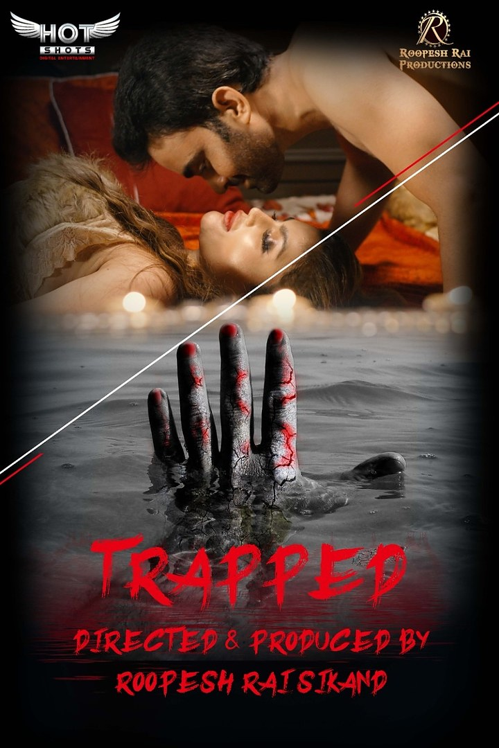 [18+]Trapped (2020) Hotshot Hindi 720p UNRATED  HDRip  Download