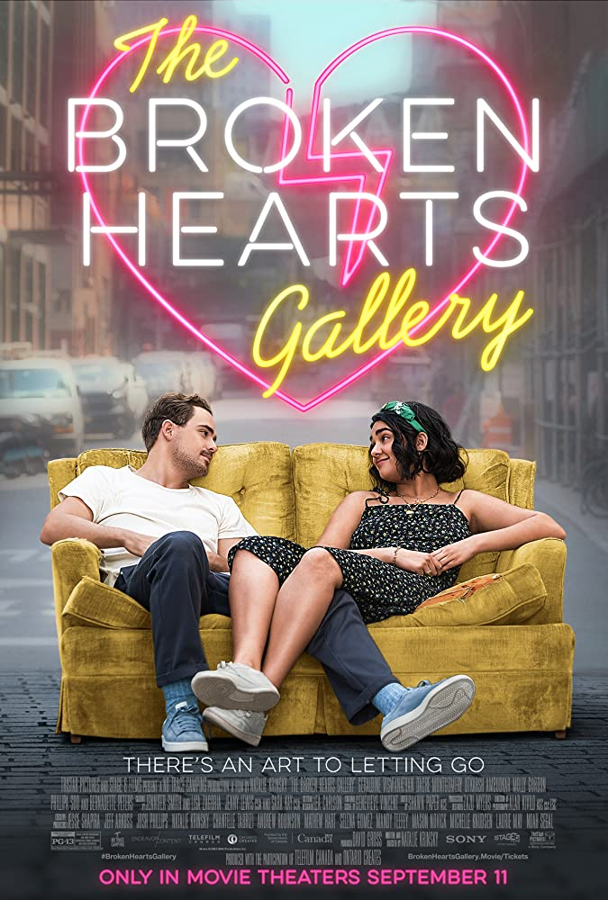 The Broken Hearts Gallery 2020 English 720p