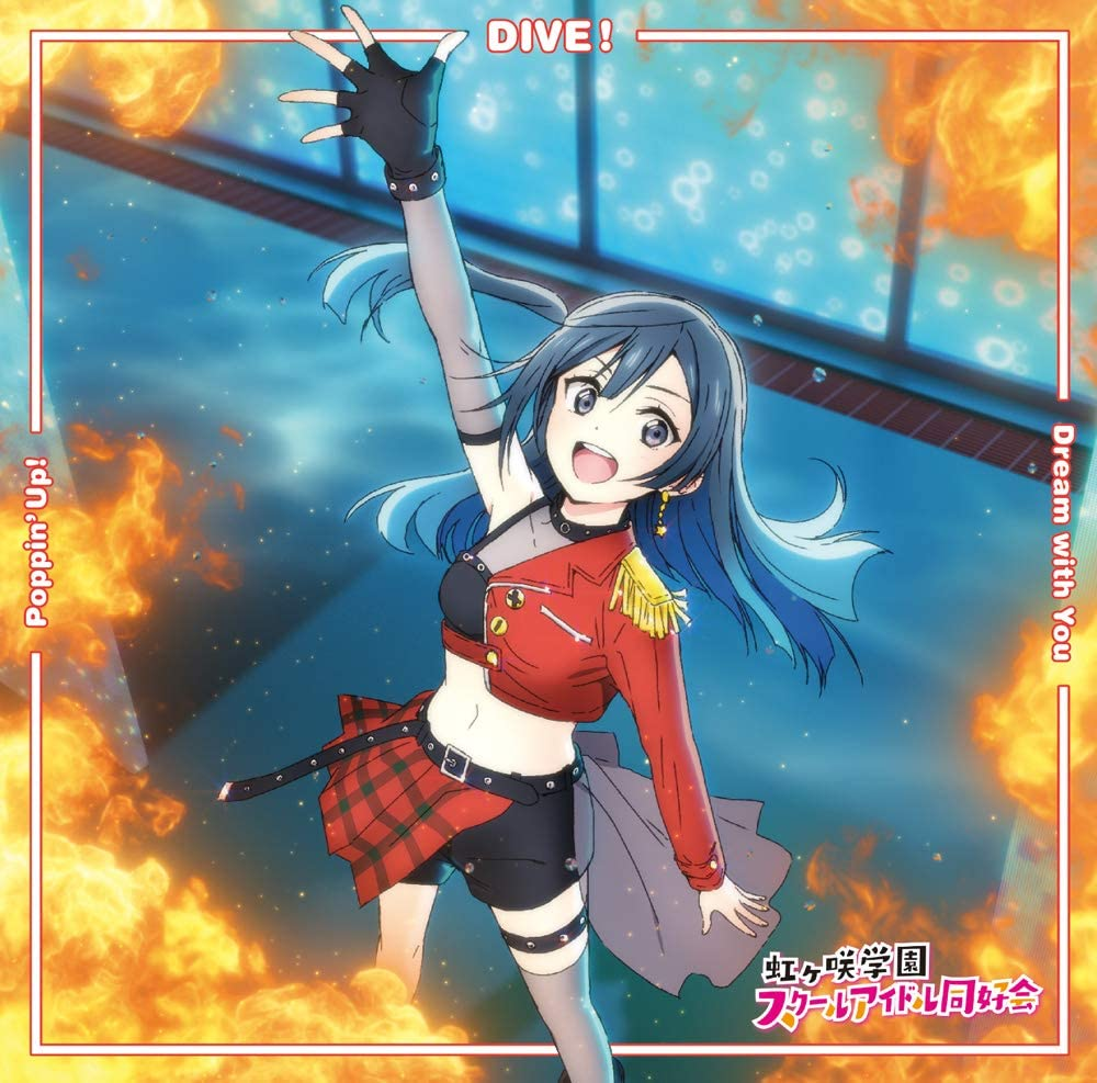 Dream with You/Poppin' Up!/DIVE! - Osanime
